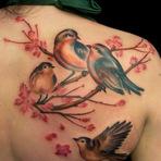 Arte & Cultura - 17 Tatuagens Femininas Incríveis de Pássaros