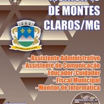 Apostila DIVERSOS CARGOS DE NÍVEL MÉDIO - Concurso Município de Montes Claros / MG 2016