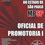 Apostila OFICIAL DE PROMOTORIA I - Concurso Ministério Público / SP (MP/SP) 2015