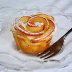 Culinária - Torta de Maçã em formato de Flor