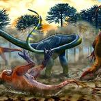 Saurópode de Cauda Longa