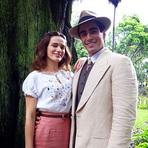 Bianca Bin faz par romântico com marido em nova novela