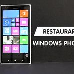 #WindowsPhone: Como restaurar o Windows Phone
