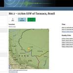 Opinião e Notícias - Forte terremoto atinge a região Norte do Brasil