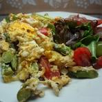 Saladas saudáveis.