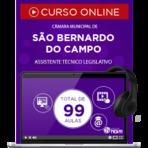 Curso Online Preparatório Concurso Prefeitura de São Bernardo do Campo SP - Assistente Técnico Legislativo
