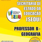 Concursos Públicos - Apostila Atualizada 2015 do Concurso SEDUC / ES  PROFESSOR B - GEOGRAFIA