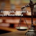 Política - Nucci, como juiz, rasgou a Convenção Americana