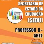 Concursos Públicos - Apostila Impressa e Digital 2015 para Cargo de PROFESSOR B - ARTE do Concurso SEDUC / ES