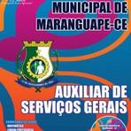 Livros - Apostila AUXILIAR DE SERVIÇOS GERAIS - Concurso Prefeitura Municipal de Maranguape / CE 2015