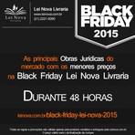 Procurando uma Black Friday de Verdade? Vem pra Lei Nova Livraria…