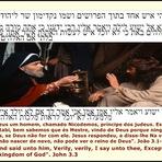 Religião - Nicodemos, o príncipe dos judeus, conversa com Jesus