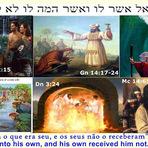 Religião - Veio para os Seus, mas estes não O conheceram