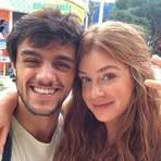 Entretenimento - Marina Ruy Barbosa elogia Felipe Simas e diz: 'Não existe príncipe encantado'