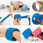 Mulher - Como Fazer Pulseiras e Braceletes Com Tecido!