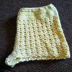 Mulher - Shortinho de Crochê Para o Verão!