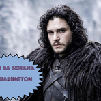Celebridades - Kit Harington, o Jon Snow da série Game of Thrones é o muso da semana