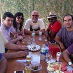 Lideranças do PMN, PSDB, Rede, PN e novo Prona se reuniram em um almoço neste domingo em Caruaru