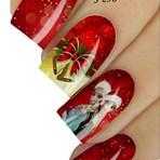 Moda & Beleza - Adesivos de Unhas de Natal