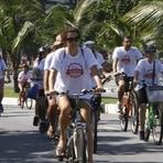 Notícias locais - Domingo de sol e pedaladas na Zona Sul de Niterói