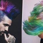Cabelo colorido! S?uper tendência para 2016