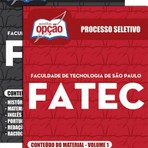 Apostila Concurso FATEC  VESTIBULAR 2015