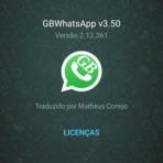 GBWhatsApp v3.50: Antiban + Temas Exclusivos!