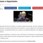 Cunha fez lobby por outra emenda do interesse do amigo do Aécio, André Esteves, disse colunista