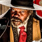 Os 8 Odiados, 2016. Trailer dublado. De Quentin Tarantino. Faroeste com Samuel L. Jackson, Kurt Russell, Jennifer Jason.