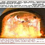 O rei babilônico Nabucodonosor viu o Filho de Deus na fornalha