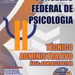 Livros - Apostila TÉCNICO ADMINISTRATIVO - ÁREA: ADMINISTRATIVA - Concurso Conselho Federal de Psicologia (CFP) 2015