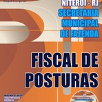Livros - Apostila FISCAL DE POSTURAS - Concurso Prefeitura de Niterói / RJ 2015
