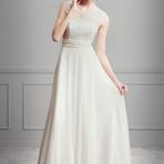 Moda & Beleza - Vestidos de noivas simples