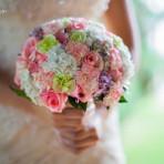 Buque de flores para noivas