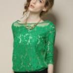 Moda & Beleza - Blusas de renda