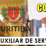 Concursos Públicos - Apostila Prefeitura de Curitiba (PR) 2015 Auxiliar de Serviços Escolares