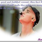 Justin Bieber fala de sua conexão com Deus