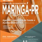 Prefeitura de Maringá - PR abre concurso público