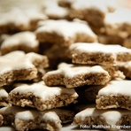 Receita de biscoitos natalinos com mascavo e gengibre