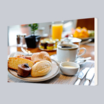 Quadros Clean - Café da Manhã