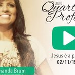 Pra. Fernanda Brum - Jesus é a porta