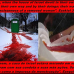 Conduta do povo de Deus igual a menstruação