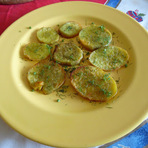 Batata-doce c/ funcho: manjar dos deuses!