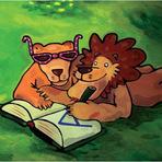 A história do leão que não sabia escrever