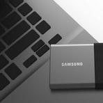 Produtos - Samsung Lança SSD Portátil de 2 TB