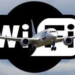 Wi-fi em um avião a 35 mil pés é mais rápido que banda larga