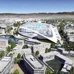 Esportes - Estádio dos Rams em Los Angeles, vai custar $ 1,8 BILHÔES e terá formato futurístico