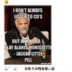 Um pouco de humor com Alanis Morissette