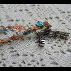 DIY| Porta chaves de tecido - por Marci Félix