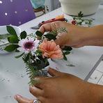 Mini ikebanas para Festas e Eventos
